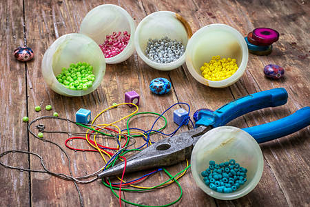 Beads for needlework