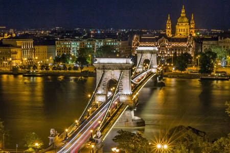 Верижен мост в Будапеща