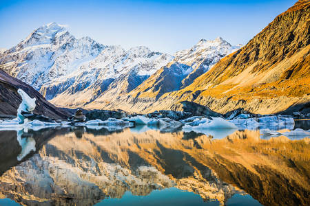 Beauty of Mount Cook National Park
