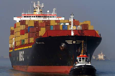 Большой контейнеровоз