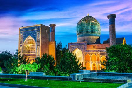 Tamerlane's mausoleum