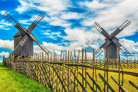 Windmills on Saaremaa