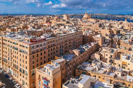 Kilátás a városra Valletta