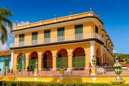 Brunet Palace in Trinidad