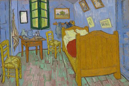 """Vincent Van Gogh: """"Bedroom in Arles"""""""