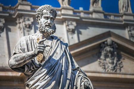 Статуя апостола Петра в Соборі Святого Петра