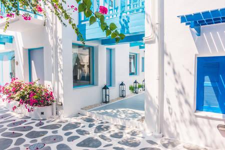 Straten van Santorini