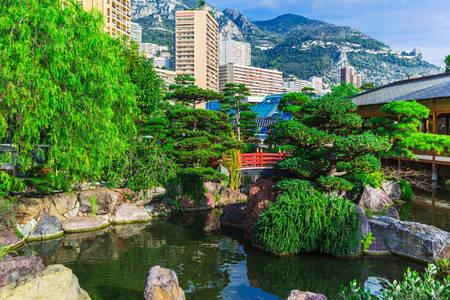 Japonská záhrada v Monte Carle