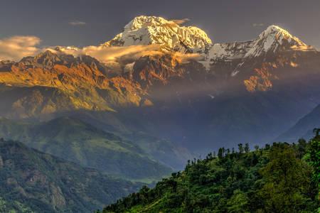 Pasmo górskie Annapurna