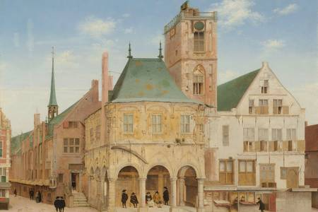 "Pieter Jansz Saenredam: ""The Old Town Hall of Amsterdam"""