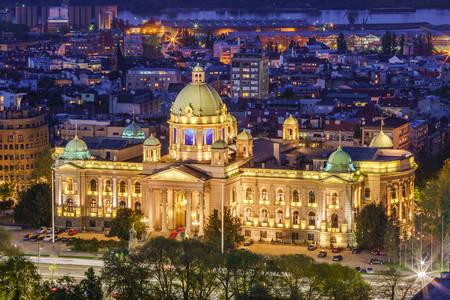 Szerbia Népi Gyűlés épülete