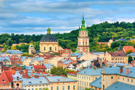 Roofs of Lviv