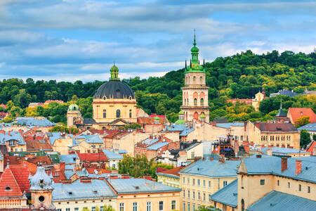 Lviv tetők