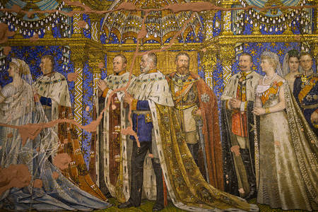 Mozaic în Biserica Memorială Kaiser Wilhelm