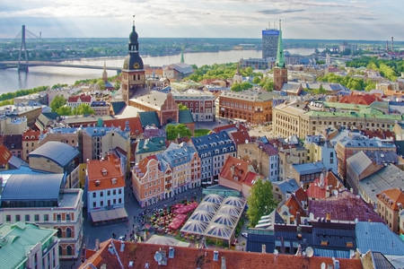 Historic center of Riga