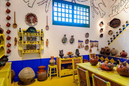 Kuhinja u muzeju Frida Kahlo