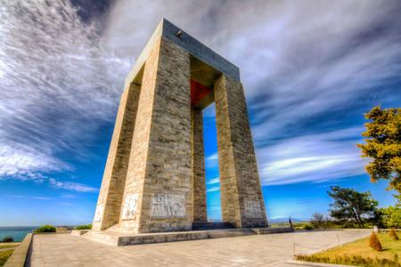 Památník mučedníků v Canakkale