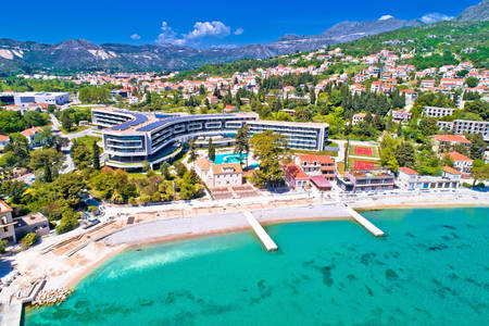 View of the Sheraton Dubrovnik Riviera hotel