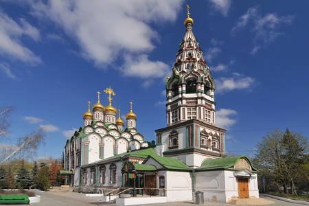 Kostol svätého Mikuláša v Chamovniki