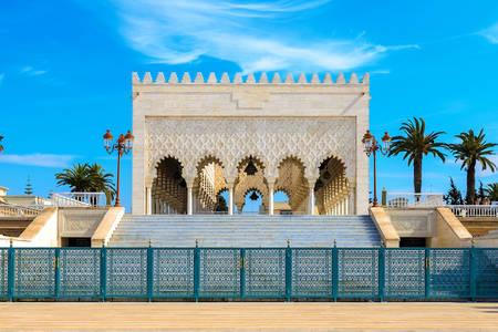 Westpavillon des Mausoleums von Muhammad V.