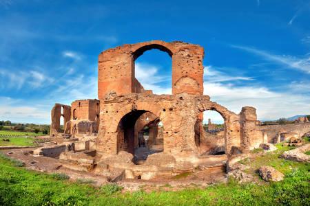 Ruins of Villa Quintilius