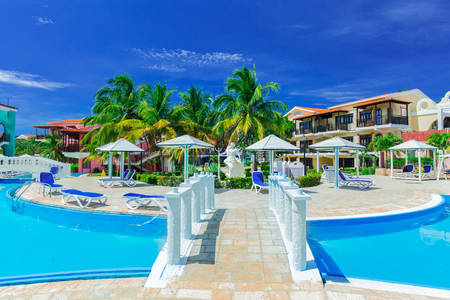 Hotel on the island of Cayo Coco
