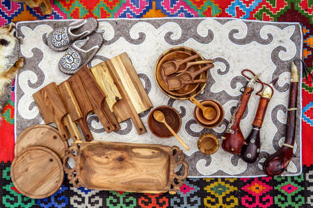 Kazakh souvenirs