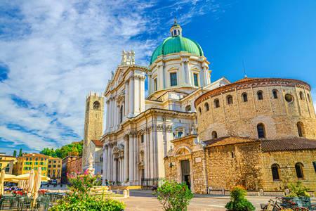 Nouvelles et anciennes cathédrales de Brescia