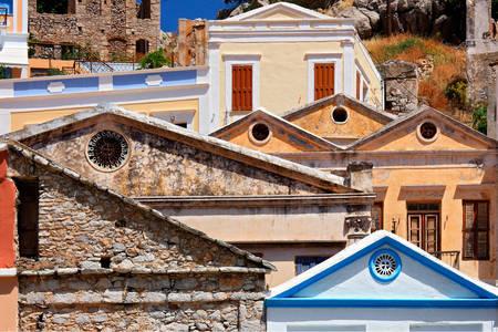 Архитектура деревни Гиалос