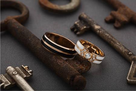 Verighete și chei vechi