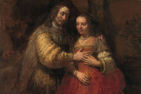"Rembrandt Van Rijn: ""The Jewish Bride"""
