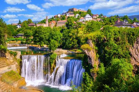 Cidade histórica de Egg na Bósnia