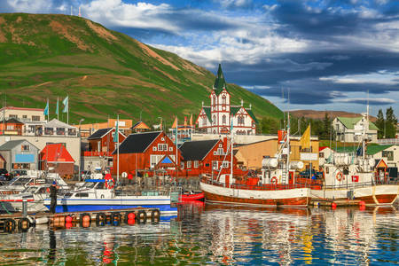 Husavik haven