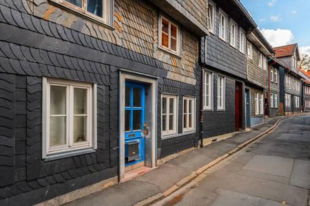 Goslar régi házai
