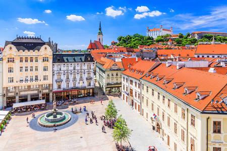 Main square of Bratislava