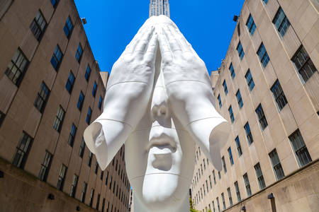 Sculpture at Rockefeller Center