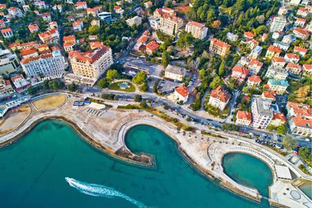 Slatina beach in Opatija