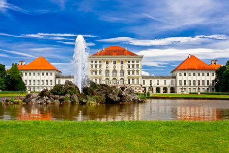 Nymphenburg castle in Munich