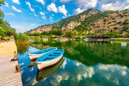 Widok na rzekę Dalyan
