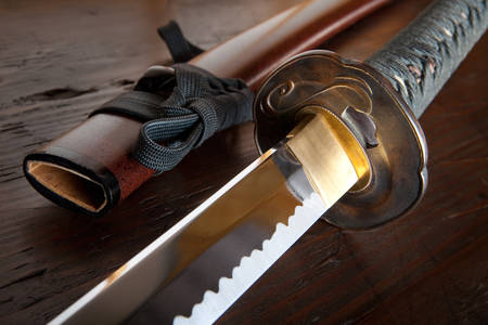Japoński miecz