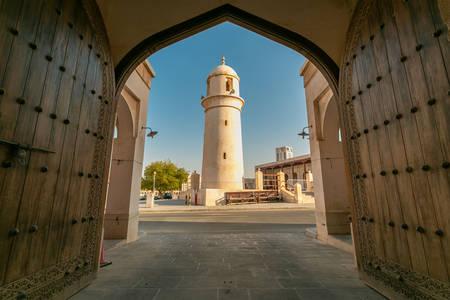Al-Ahmad Mosque in Doha