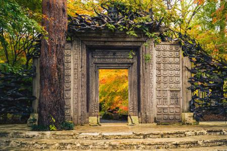 Kubota Itchiku Museum Gate