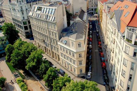 Straat in Wenen