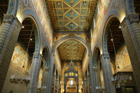 The architecture of the Cathedral of Saints Peter and Paul