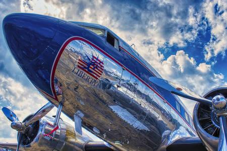 Ancien avion de passagers