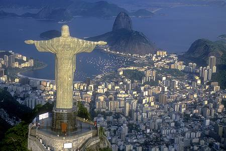 Pohled Rio de Janeiro