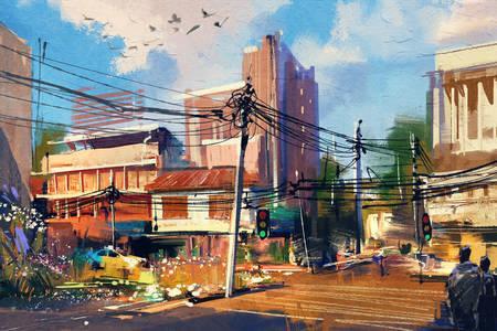 Le vie della città