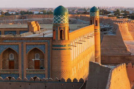 Ancient city of Khiva