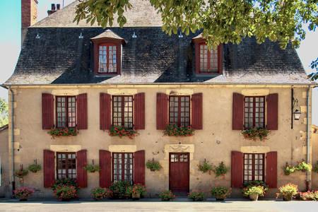 Старі будинки Франції