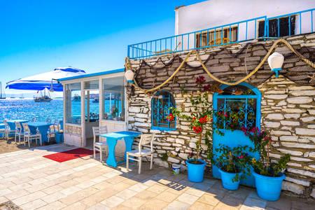 Restaurant am Meer in Bodrum